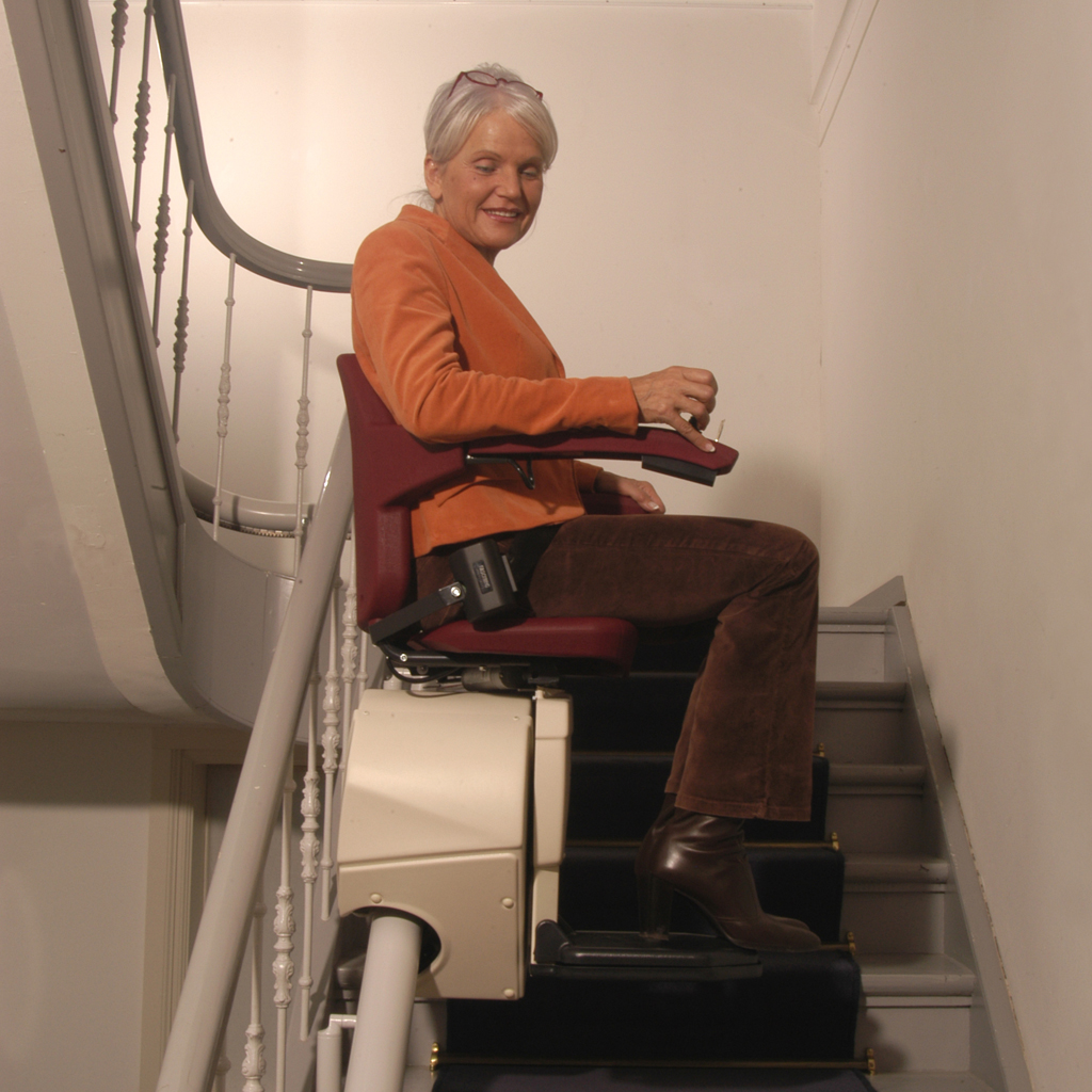 MPR Vermeer stollift, flera våningar MPR Lift